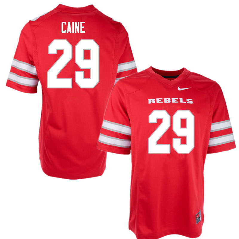 Men #29 Tre Caine UNLV Rebels College Football Jerseys Sale-Red